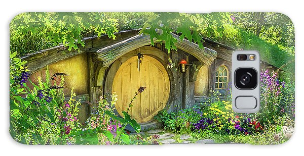 Hobbit Cottage Galaxy Case