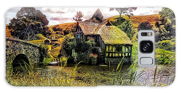 Hobbiton Mill And Bridge Galaxy Case