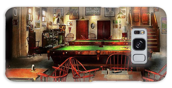 Hobby - Pool - The Billiards Club 1915 Galaxy Case by Mike Savad