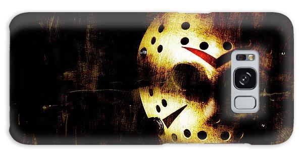 Hockey Galaxy Case - Hockey Mask Horror by Jorgo Photography - Wall Art Gallery