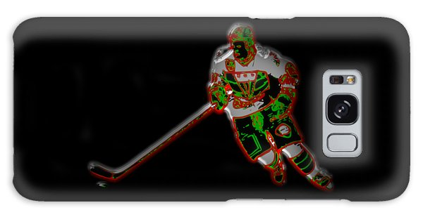 Hockey Player Galaxy Case