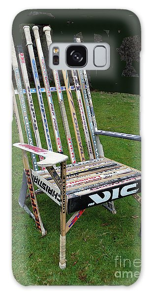 Hockey Stick Chair Galaxy Case