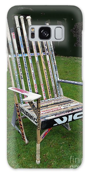 Hockey Stick Chair Galaxy Case