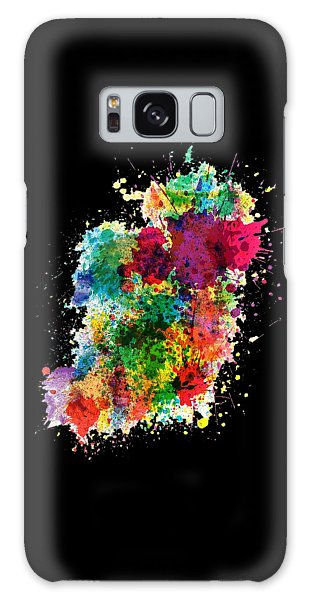 Hodge Podge T-shirt Galaxy Case by Herb Strobino