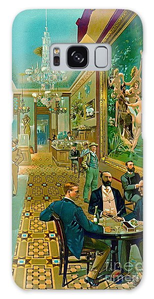 Hoffman House Bar 1890 Galaxy Case by Padre Art