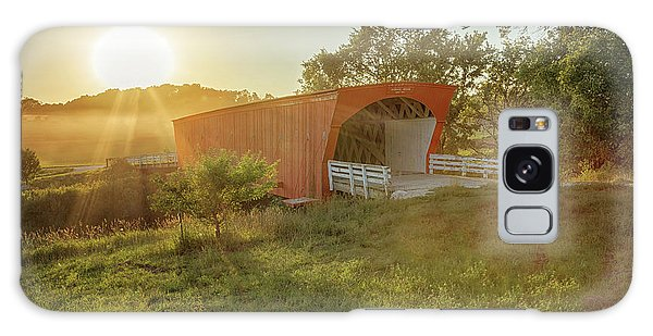 Hogback Covered Bridge 2 Galaxy Case