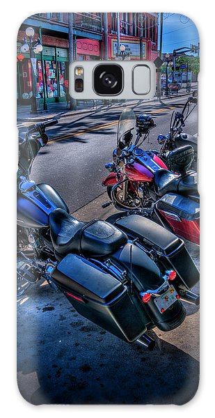 Motor City Galaxy Case - Hogs On 7th Ave by Marvin Spates