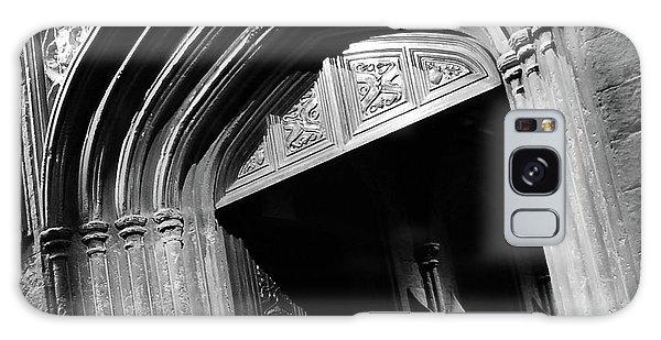 Hogwards Door  Galaxy Case by Gina Dsgn