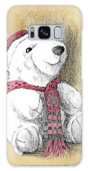 Holiday Bear Card Galaxy Case