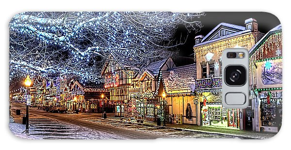 Holiday Village, Leavenworth, Wa Galaxy Case