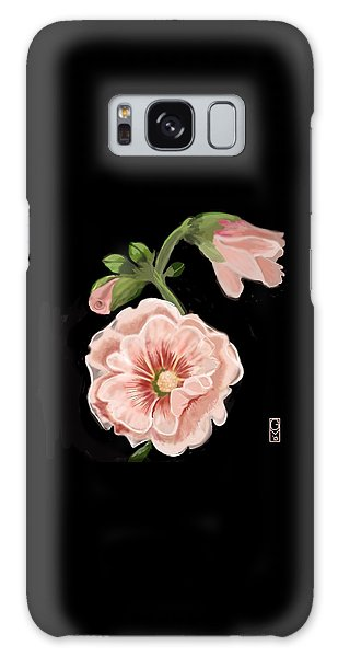 Hollyhock Galaxy Case