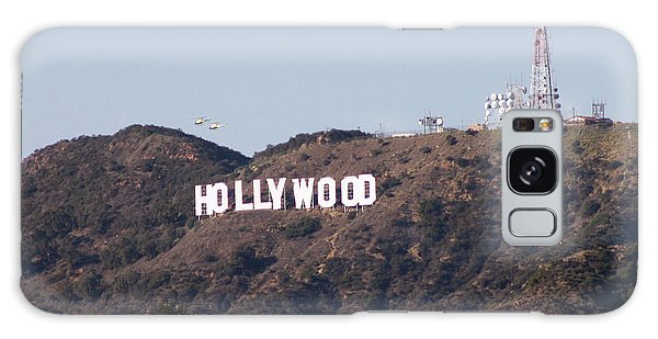 Hollywood And Helicopters Galaxy Case
