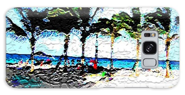 Hollywood Beach Fla Digital Galaxy Case