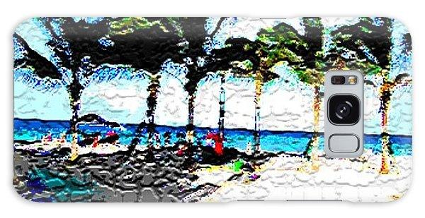 Hollywood Beach Fla Digital Galaxy Case by Dick Sauer