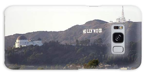 Hollywood Hills And Griffith Observatory Galaxy Case