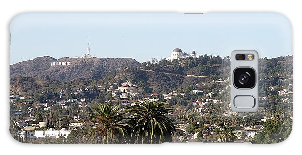 Hollywood Hills From Sunset Blvd Galaxy Case