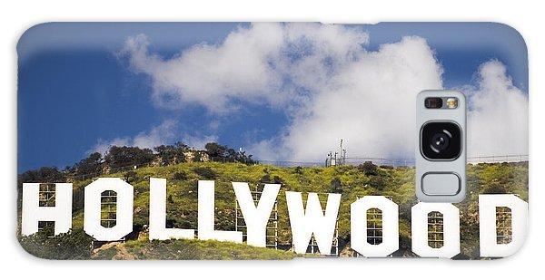 Hollywood Sign Galaxy Case