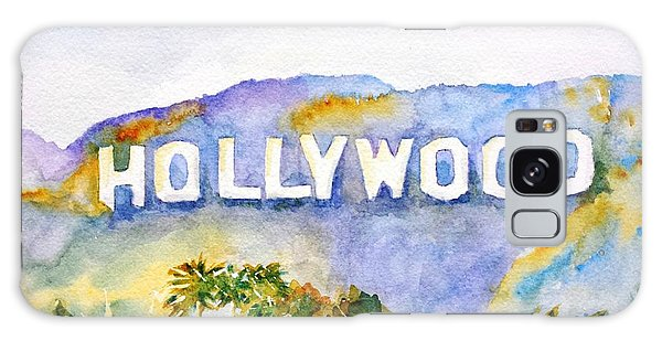 Hollywood Sign California Galaxy Case