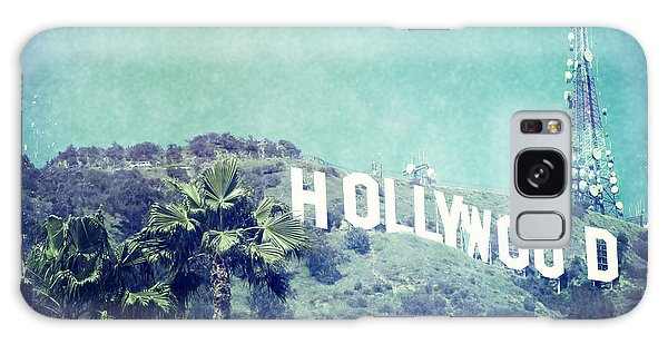 Hollywood Sign Galaxy Case