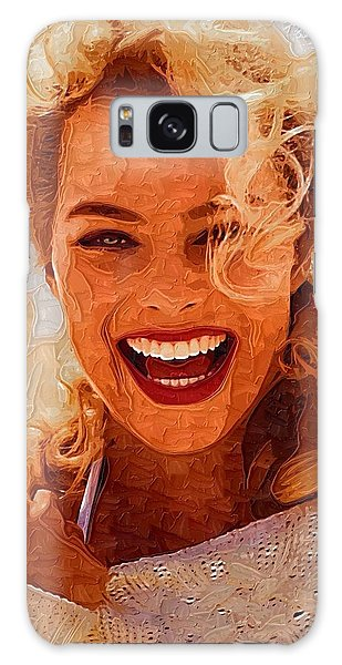 Hollywood Star Margot Robbie Galaxy Case