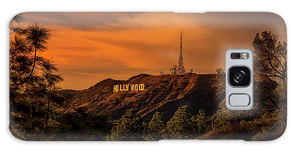 Hollywood Sunset Galaxy Case