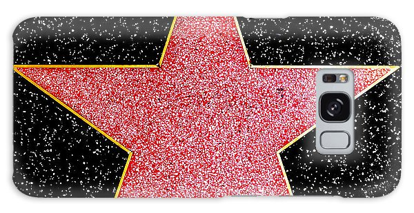 Hollywood Walk Of Fame Star Galaxy Case