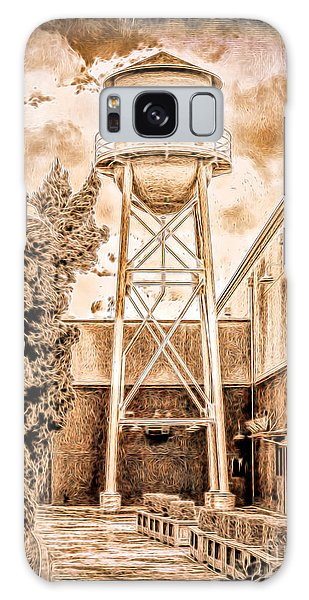 Hollywood Water Tower Galaxy Case