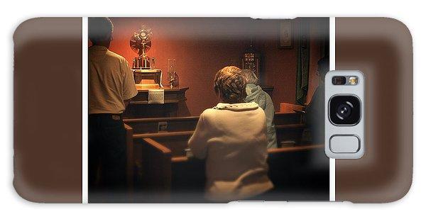 Holy Adoration Altar Galaxy Case