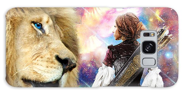 Holy Calling Galaxy Case by Dolores Develde