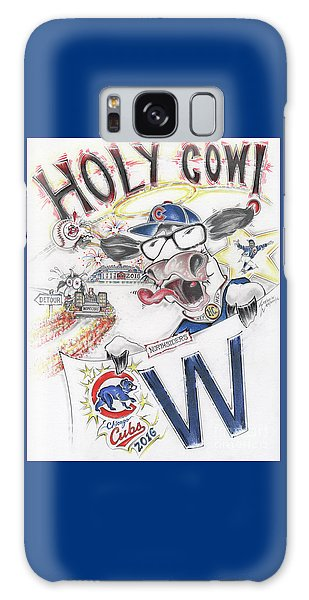 Holy Cow  Galaxy Case by Scott and Dixie Wiley