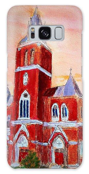 Holy Family Church Galaxy Case
