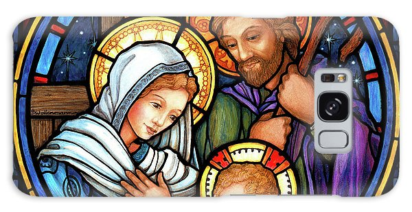 Holy Family Stained Glass Galaxy Case