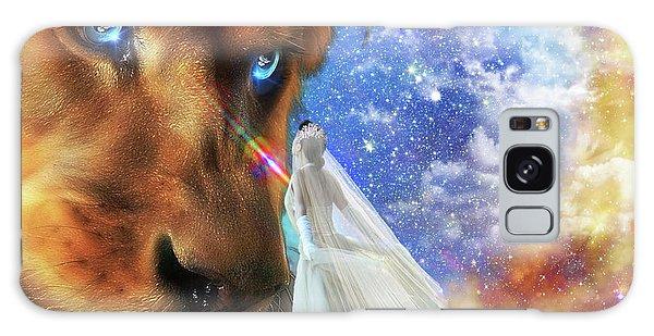 Divine Perspective Galaxy Case by Dolores Develde