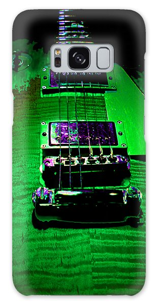 Galaxy Case featuring the photograph Holy Grail 1959 Retro Relic Guitar by Guitar Wacky
