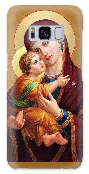 Holy Mother Of God - Blessed Virgin Mary Galaxy Case by Svitozar Nenyuk