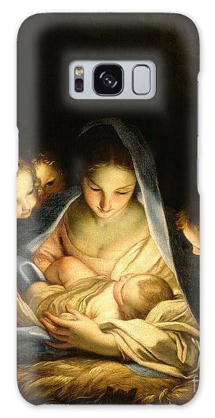 Savior Galaxy Case - Holy Night by Carlo Maratta