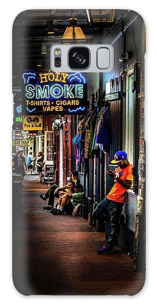 Holy Smoke Bourbon Street Galaxy Case