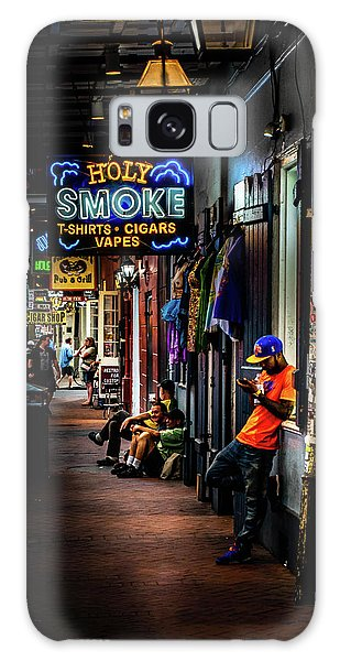 Holy Smoke Bourbon Street Galaxy Case