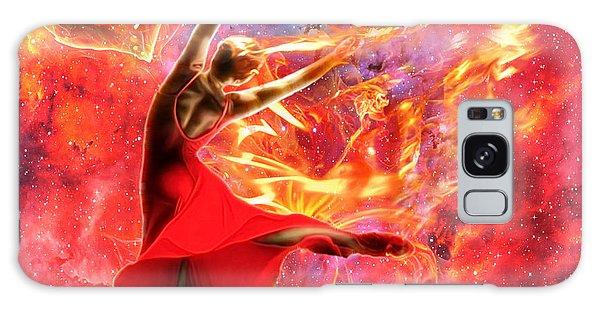 Holy Spirit Fire Galaxy Case