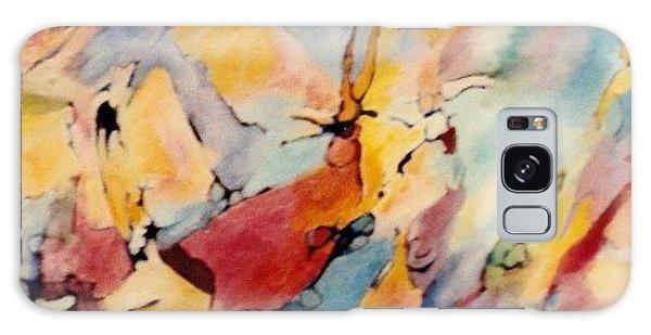 Homage A Kandinsky Galaxy Case by Bernard Goodman