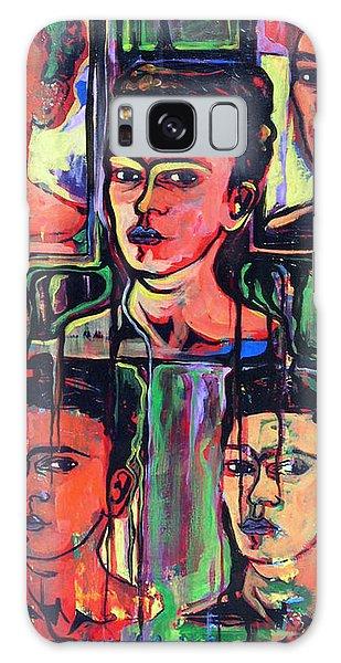 Homage To Frida Kahlo Galaxy Case