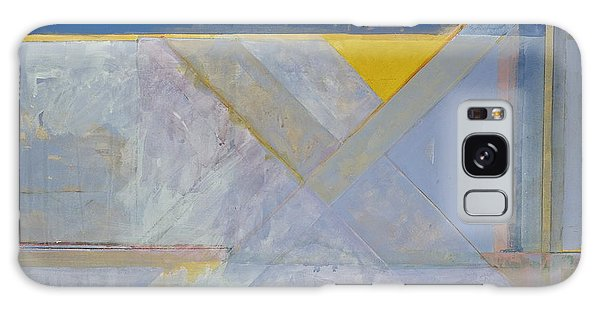 Homage To Richard Diebenkorn's Ocean Park Series  Galaxy Case