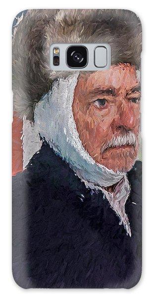 Homage To Van Gogh Two Galaxy Case