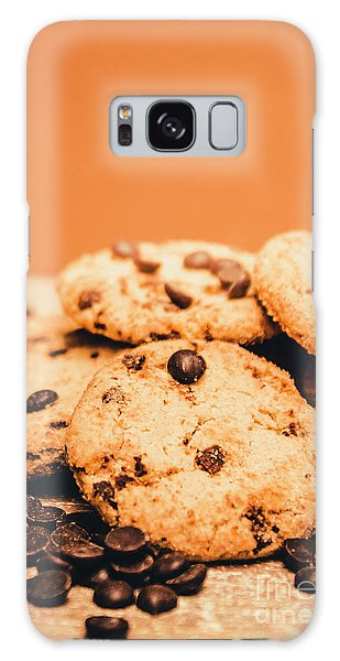 Home Baked Chocolate Biscuits Galaxy Case
