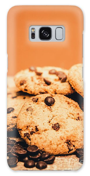 Made Galaxy Case - Home Baked Chocolate Biscuits by Jorgo Photography - Wall Art Gallery