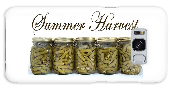 Home Canned Green Beans Summer Harvest Galaxy Case