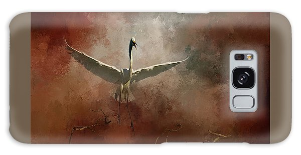 Egret Galaxy Case - Home Coming by Marvin Spates