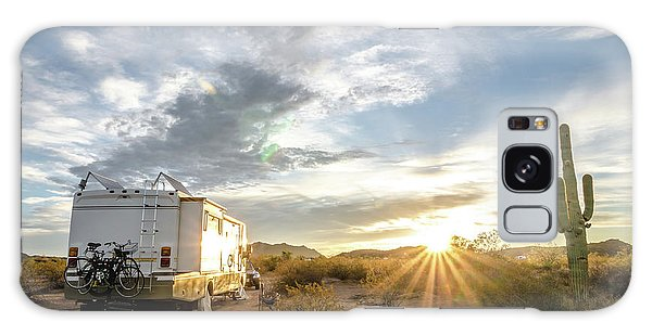 Home In The Desert Galaxy Case