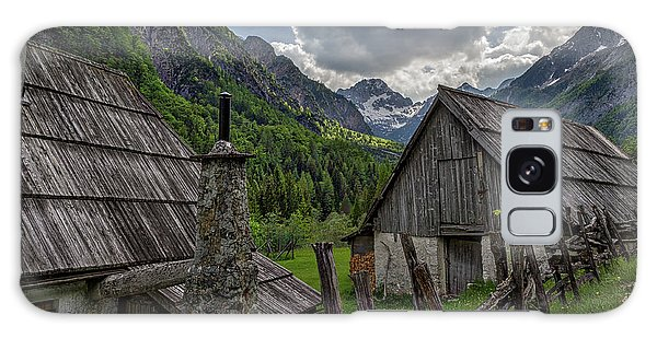 Galaxy Case featuring the photograph Home In The Slovenian Alps #2 by Stuart Litoff