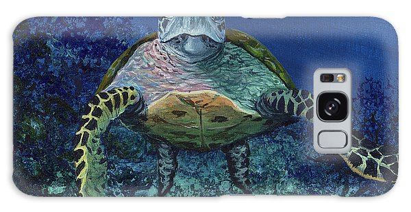 Galaxy Case featuring the painting Home Of The Honu by Darice Machel McGuire